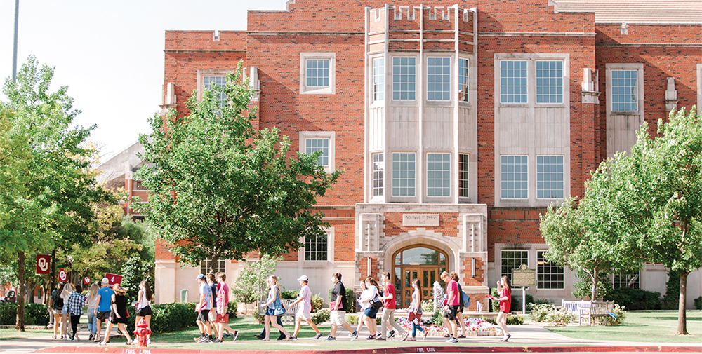 New Sooner Orientation group