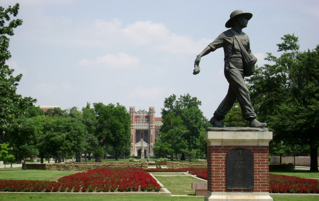 south oval at OU
